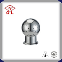 Sanitary Stainless Steel Rotary Clamped Cleaning Ball