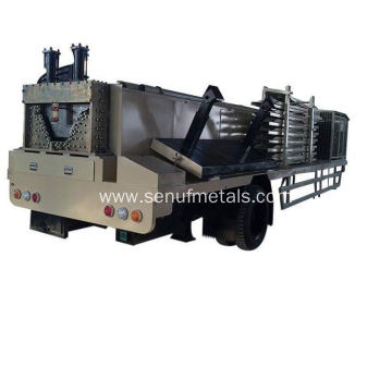 Long span roofing machine Mexico