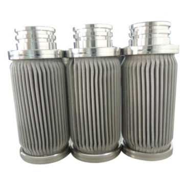 Stainless Steel Pleated Metal Felt Filter Element