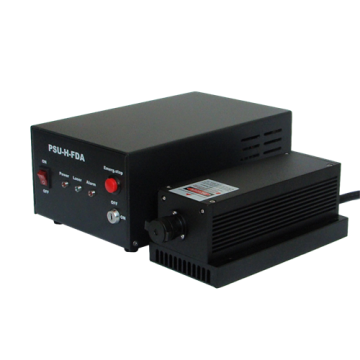 Red Single Frequency Laser