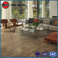 Nordic jungle wood effect tiles in living room