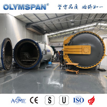 ASME standard small fiber glass material autoclave