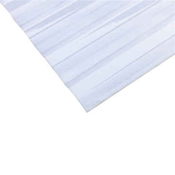 Transparent polycarbonate corrugated wave sheet