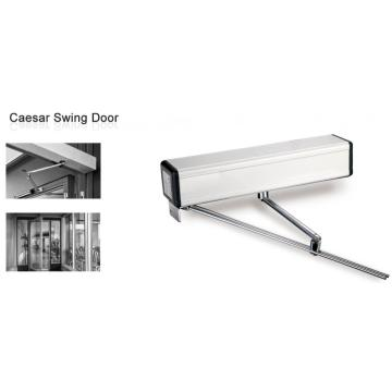 Commercial system automatic glass swinging door opener