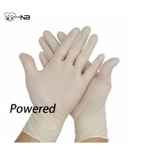 Powered Non sterile latex exam glove