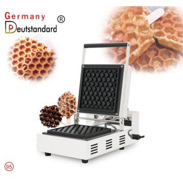 Big square honeycomb waffle maker machine