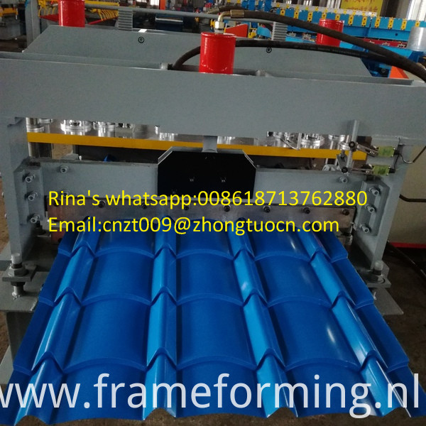 roofing sheet roll forming machine 6