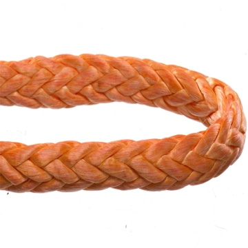 Tensile resistance 8mm braided polyester nylon rope