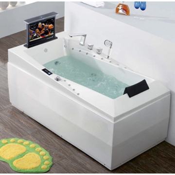 Acrylic Soaking Material Freestanding Massage Bathtub
