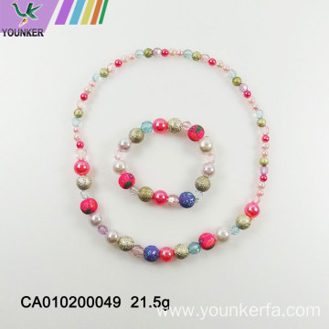 Lovely candy beaded necklace for children