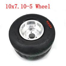 Diy Rear Wheel Kart Atv Utv Rear Wheel High Quality 11x7.10-5 Tubeless Tire Vacuum Tire Aluminum Rim 5 Inch Wheel