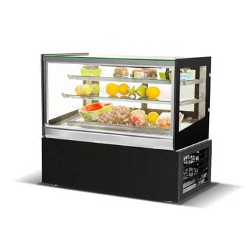 supermarket  mini refrigerator cake showcase