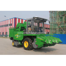 corn maize self propelled reaper harvester