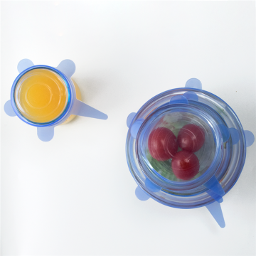 Kitchen FDA Food Grade Silicone Stretch Lids