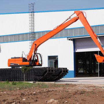 High Efficiency 110W-115W Amphibious Excavator