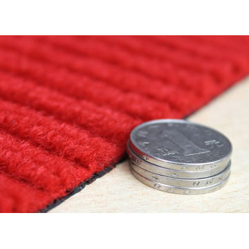 Custom sizes anti slip double stripe door mat