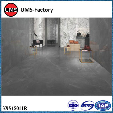 Black personalized marble brick effect ceramic floor tiles