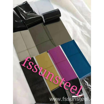 8K color stainless steel