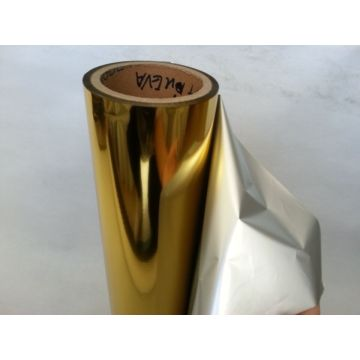 Gold Metalized Pet Film For Paper Thermal Laminating