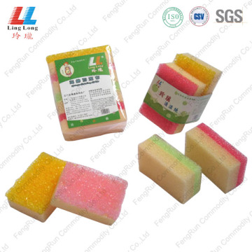 Colorful Artificial Househould Kitchen Sponge Tools
