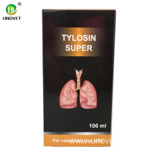 Tartrate Tylosin Injectable 100ml fun Ounjẹ