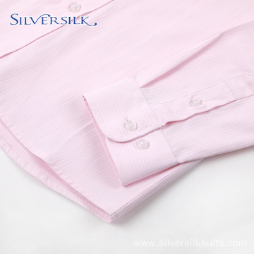 Preppy Style Custom Stylish School Pink Blouse