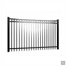 Cheap Double Open Fencing Swing Sliding Gate