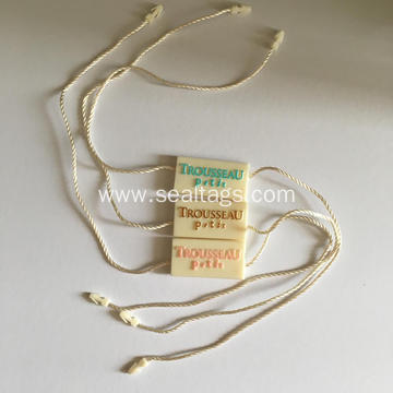 Factory Wholesale Plastic Tag with Embossed Logo