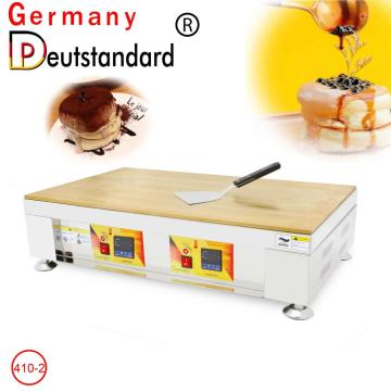 High quality electric souffle pancake maker machine with CE snack machine for sale