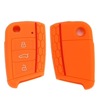 Venta al por mayor Silicone Car Key Cover para Golf 7