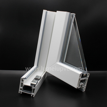 Plastic Extrusion uPVC Profiles For Windows