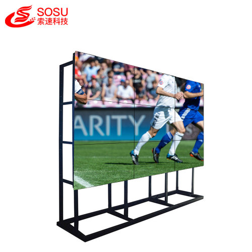 Full HD LCD video wall for shopping mall