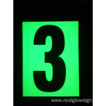 Realglow Photoluminescent  Flat Number 3