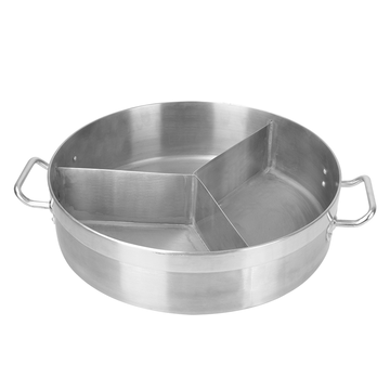Stainless Steel S/Straight Sheet Three Pot