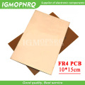 1pcs FR4 PCB 10x15cm 10cmx15cm 10*15 Single Side Copper Clad plate DIY PCB Kit Laminate Circuit Board