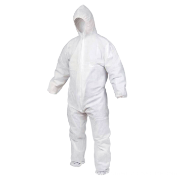 Women's White Disposable Work Painters Coveralls for Men