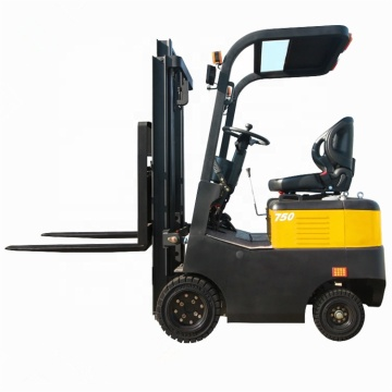 750kg capacity counterbalance electric fork lift truck