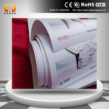 laser printing synthetic paper for advertising