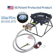 Outdoor Camping Gas Burner Stove With Stand