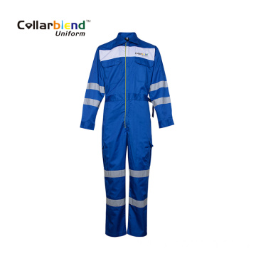 Anti Static Blue Mechanic Overall Cargo Pants