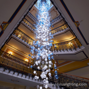 Banquet lobby ball shape chandelier light
