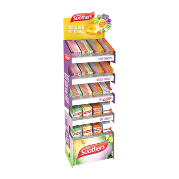 APEX New Design Supermarket Candy Paper Display