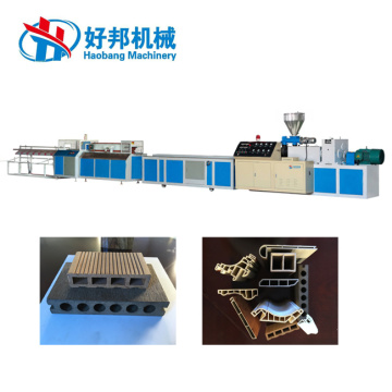 UPVC Profiles Extrusion Production Line