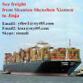 Shantou sea freight shipping container to Jinja