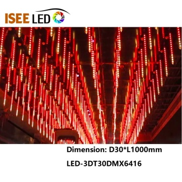 DMX512 3D LED Tube For club Lighting