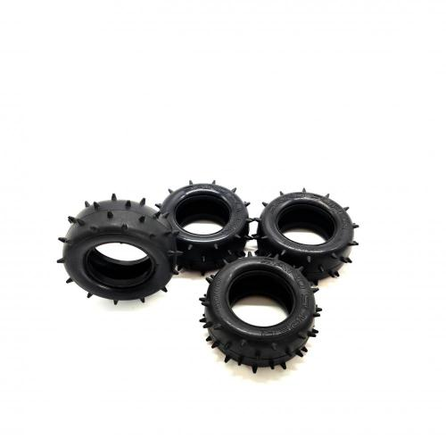 Customized rubber anti friction toy tire