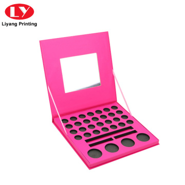 Private Label Cosmetic Makeup Eyeshadow Palette with Mirror