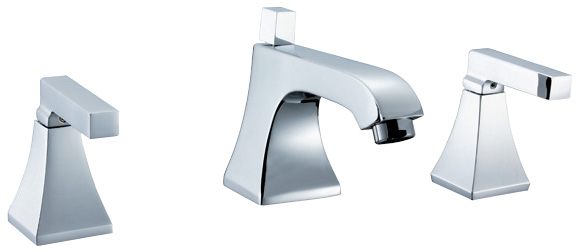 double handle basin faucets