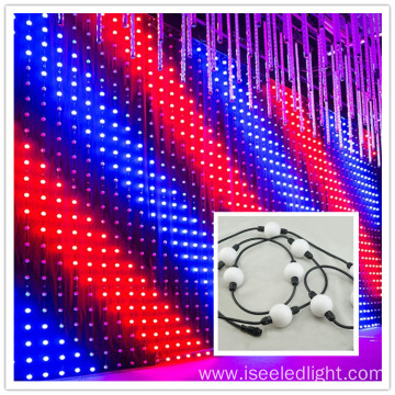 Hot sale 50mm LED 3D ball screen