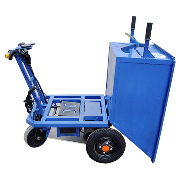 Electric tipper tricycle for engineering